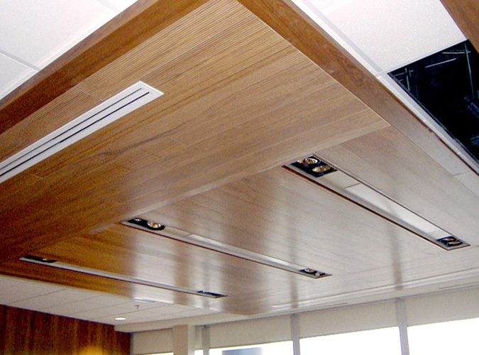 Interior > Ceiling > Wood - Sound Rite - Acoustical, Architectural