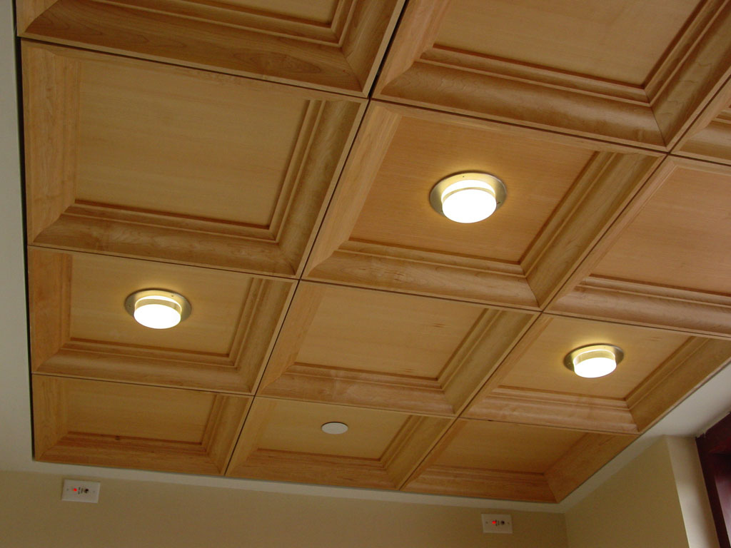 Interior > Ceiling > Wood - Sound Rite - Acoustical