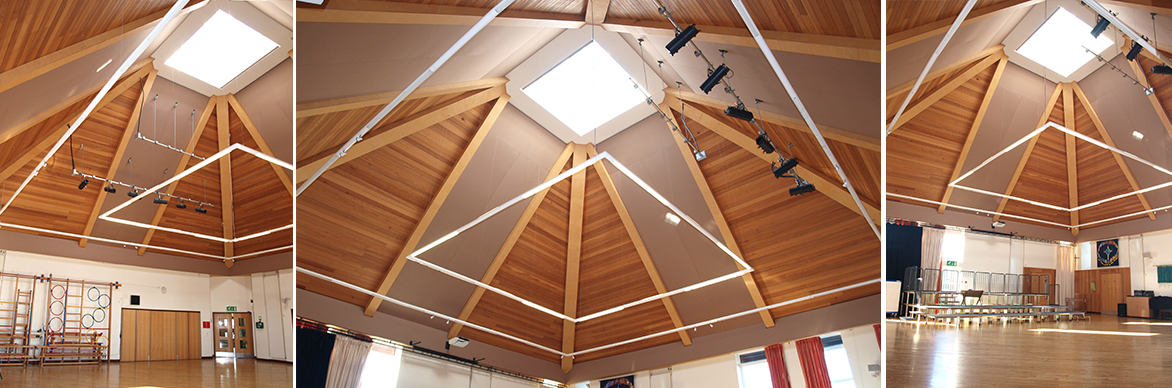 Eomac / PRO-STRETCH Fabric Acoustic Ceiling Treatment System