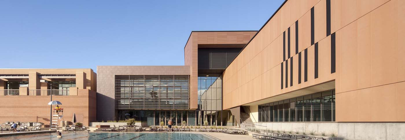 fibre C / ASU Sun Devil Fitness Center / Studio Ma, Sasaki Associates, Associate Architect / Photo by Bill Timmerman